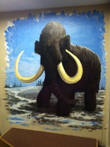 Mammoth Mural Completed